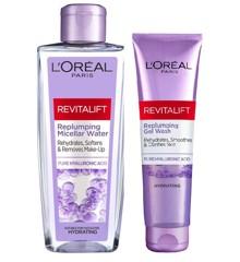 L'Oréal Paris - Revitalift Micellar Water 200 ml + Gel Wash 150 ml