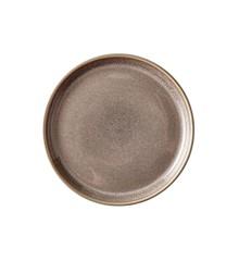 BITZ - 2 x Gastro Plate Dia. 17 x 2,0 cm - Grey/Grey