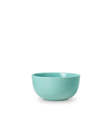 Lyngby Porcelæn - Rhombe Color Skål Dia. 13cm - Aqua