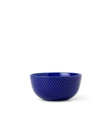 Lyngby Porcelæn - Rhombe Color Skål Dia. 13cm - Mørkeblå