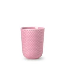 Lyngby Porcelæn - Rhombe Mug 33 cl - Rosa ( 201960)