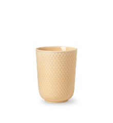 Lyngby Porcelæn - Rhombe Mug 33 cl - Sand (201961)