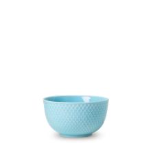 Lyngby Porcelæn - Rhombe Color Skål Dia. 11cm - Turkis
