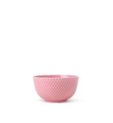 Lyngby Porcelæn - Rhombe Color Skål Dia. 11cm - Rosa