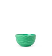 Lyngby Porcelæn - Rhombe Color Skål Dia. 11cm - Grøn