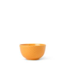 Lyngby Porcelæn - Rhombe Color Skål Dia. 11cm - Gul