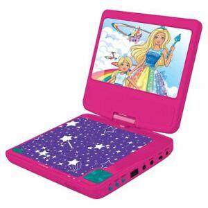 """Billede af Lexibook -Barbie bærbar DVD-afspiller 7 """"roterende skærm med USB-port og høretelefoner"""