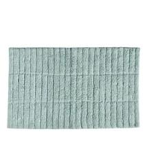 Zone -Tiles Bath Mat- Dusty Green (13539)