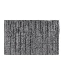 Zone - Tiles Bath Mat- Grey (13533)