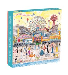 Mudpuppy - Puzzle 500 pcs - Summer At The Amusement Park by Michael Storring (043269)