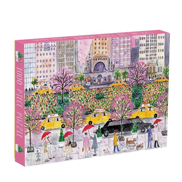 Mudpuppy - Puzzle 1000 pcs - Spring On Park Avenue by Michael Storring (048202)