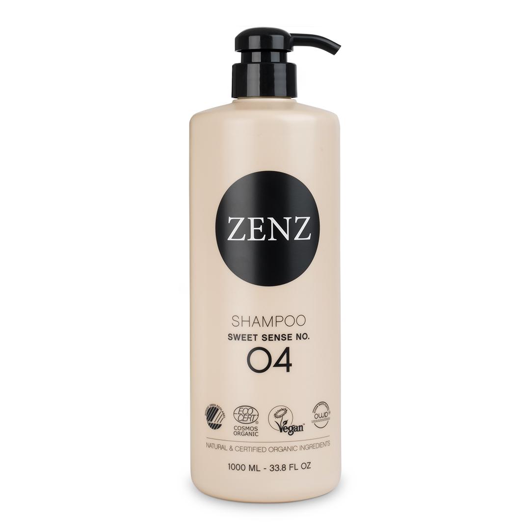 ZENZ - Organic Sweet Sense No. 4 Shampoo - 1000 ml