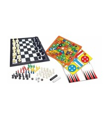 Lexibook - Magnetic board game – set of 8 games in 1 (JGM800)