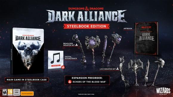 Dungeons and Dragons: Dark Alliance (Steelbook Edition)