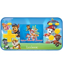 Lexibook - Handheld console Cyber Arcade® Pocket Paw Patrol - screen 1.8'' 150 games incl. 10 with Paw Patrol (JL1895PA)