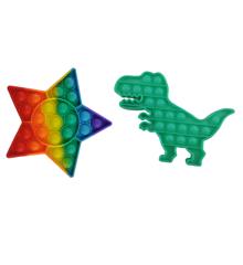 Plop Up! Fidget Game Figur - Dino & Stjerne