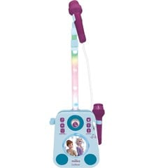 Lexibook - Frozen Karaoke with two microphones and light and sounds effects (K140FZ)