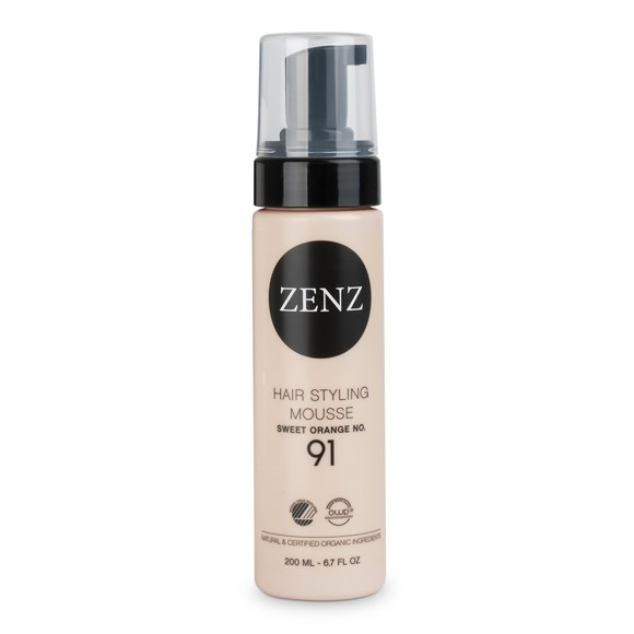 ZENZ - Organic No. 91 Hair Styling Mousse Extra Volume 200 ml