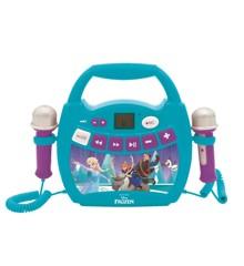 Lexibook - Disney Frozen Light Bluetooth Speaker with Mics and Rechargeable Battery (MP320FZZ)