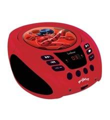 Lexibook - Miraculous Portable CD player with Mic Jack (RCD108MI)