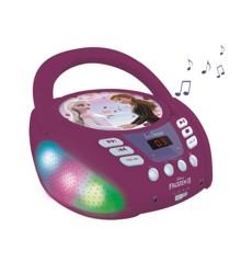 Lexibook - Disney Frozen Bluetooth CD player with Lights  (RCD109FZ)