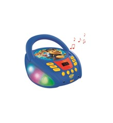 Lexibook - Paw Patrol Bluetooth CD player with Lights (RCD109PA)