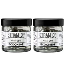 Ecooking - 2x Stram Op Kapsler 60 stk