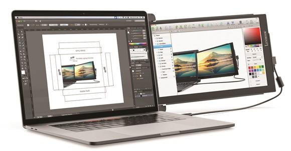 Lexibook - Dual & Triple Screen for Laptop (14.5'' version) (TRIOMAX)