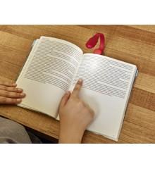 Rechargeable Clip Book Light Red (BL13-RD-EU)