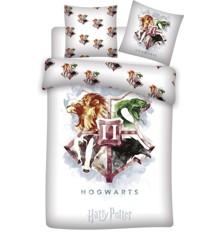 Sengetøj - Voksen str. 140 x 200 cm - Harry Potter
