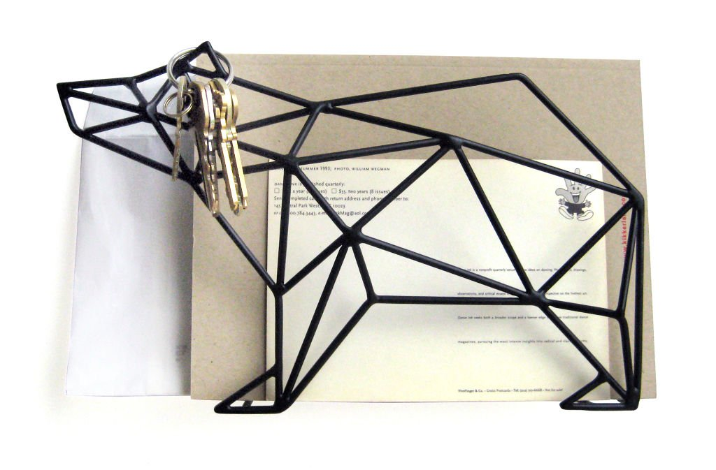 Letter Organizer Bear for Wall or Desk (HH23)