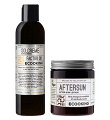 Ecooking - Solcreme SPF 30 200 ml + Aftersun 250 ml