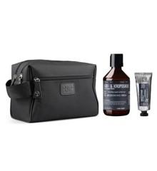 Vittorio - 2 Rums Toilettaske Til Mænd + Ecooking Ansigtscreme til Mænd 50 ml + Hår & Krops Shampoo 250 ml
