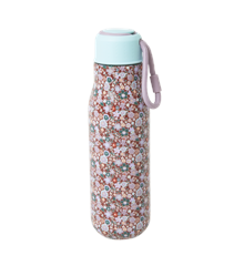 Rice - Stainless Steel Thermo Drinking Bottle 500 ml - Fall Floral Print