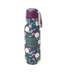 Rice - Stainless Steel Thermo Drinking Bottle 500 ml - Wedding Bouquet Print
