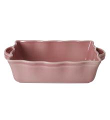 Rice - Stoneware Oven Dish - Pink L