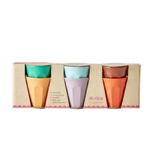 Rice - 6 Melamine Espresso Cups - Follow The Call of The Disco Ball