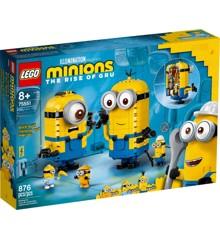 LEGO Minions - Brick-built Minions and their Lair (75551)