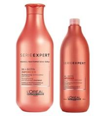 L'Oreal Professionnel - Inforcer Shampoo 1500 ml + Conditioner 1000 ml