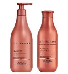 L'Oreal Professionnel - Inforcer Shampoo 500 ml + Conditioner 200 ml