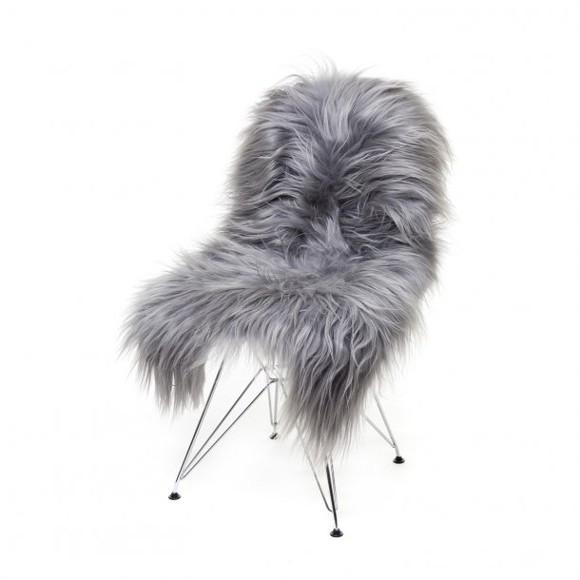 AVALON Copenhagen - Long Hair Sheep Sheepskin - Grey (TH0110100)