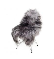 AVALON By Copenhagen - Long Hair Sheep Sheepskin - Grey/Black (TH0110131)
