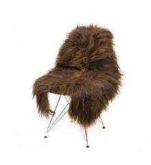 AVALON By Copenhagen - Long Hair Sheep Sheepskin - Brown/Light Strip (TH0110094)