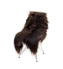 AVALON Copenhagen - Long Hair Sheep Sheepskin - Dark Brown (TH0011034)