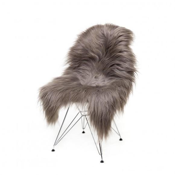 AVALON By Copenhagen - Long Hair Sheep Sheepskin - Nougat (TH0110117)