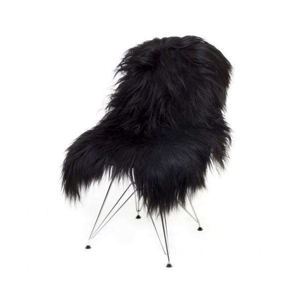 AVALON By Copenhagen - Long Hair Sheep Sheepskin - Black (TH0110124)