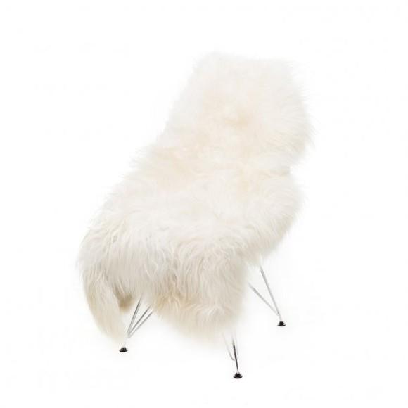 AVALON By Copenhagen - Long Hair Sheep Sheepskin - White (TH2172600)