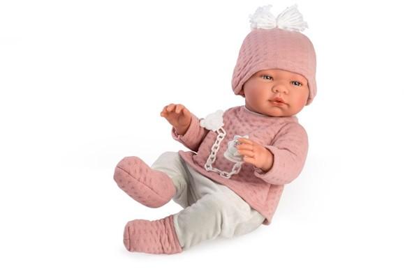 Asi - Maria baby dukke i genser og leggins