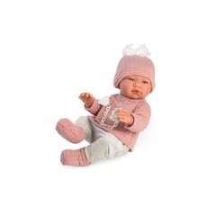 Asi - Maria babydukke i sweater  og leggins