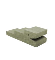 bObles - Krokodille - Marmor Natur - Moss
